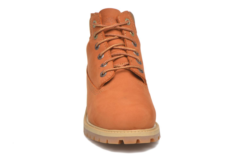 Stiefeletten & Boots Timberland 6 In Premium WP Boot beige schuhe getragen