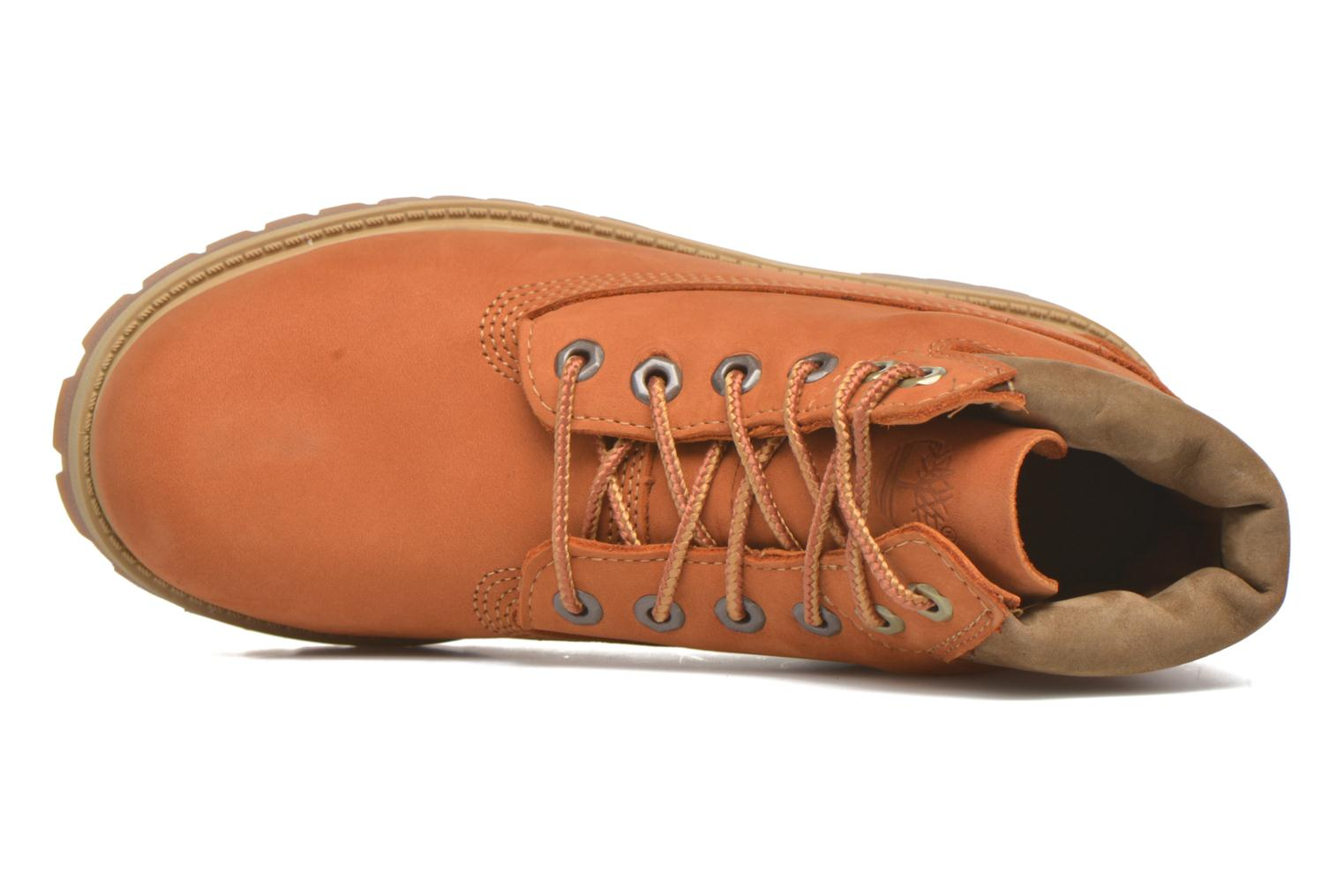 Ankle boots Timberland 6 In Premium WP Boot Beige view from the left