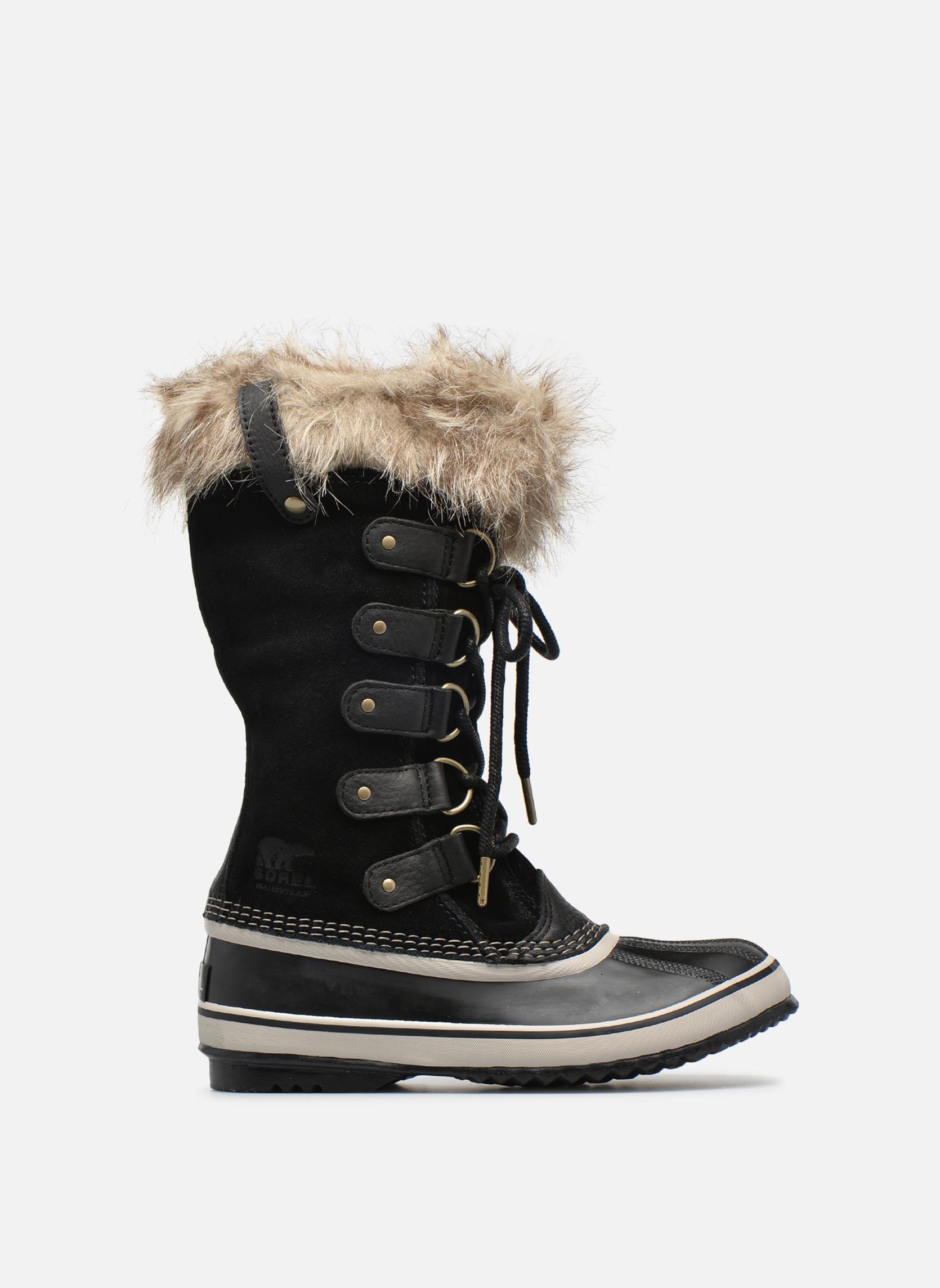 Sportschoenen Sorel Joan Of Arctic Zwart achterkant