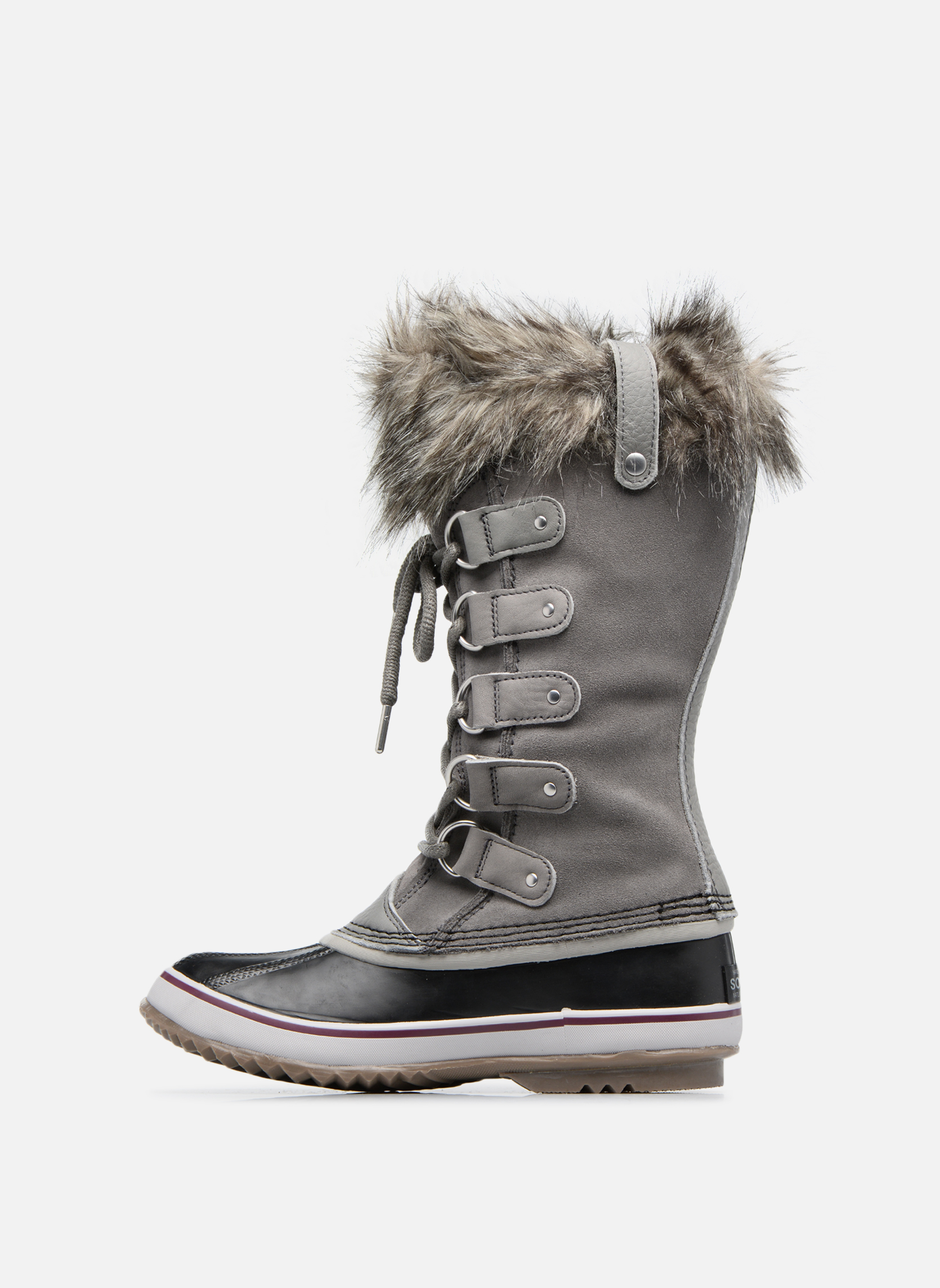 Chaussures de sport Sorel Joan Of Arctic Gris vue face
