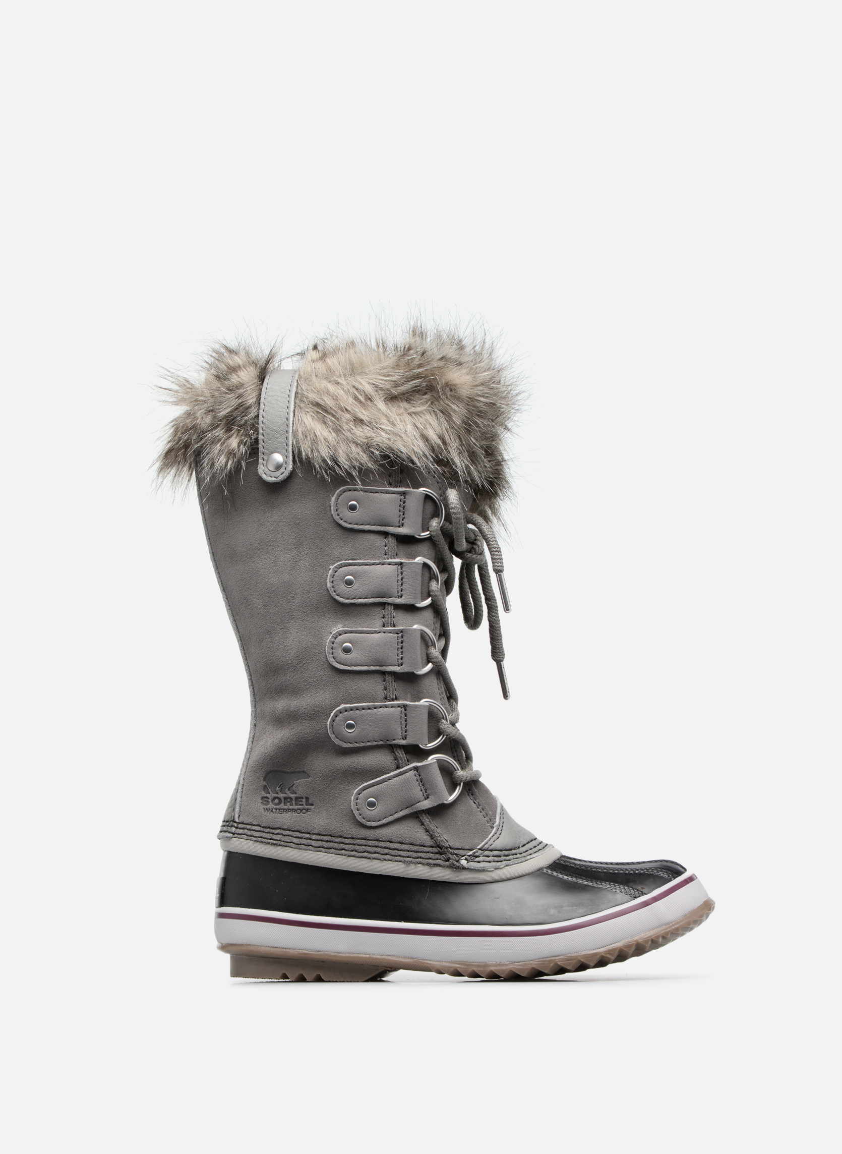 Sport shoes Sorel Joan Of Arctic Grey back view