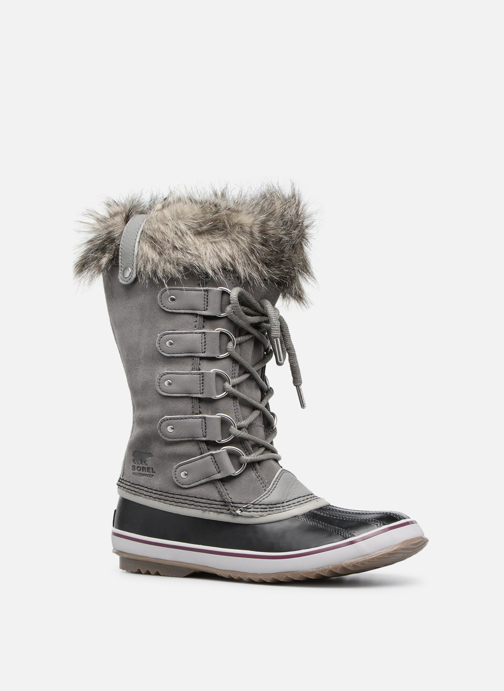 Sport shoes Sorel Joan Of Arctic Grey detailed view/ Pair view