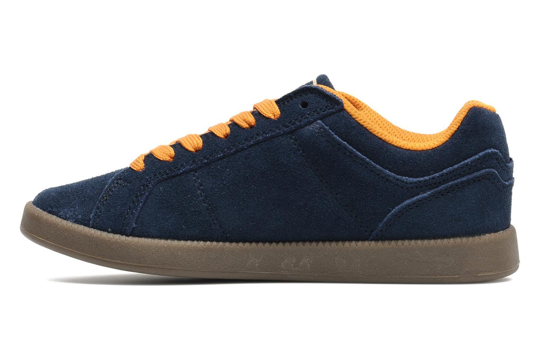 Sneakers Quiksilver LITTLE AREA 5 SUEDE Blauw voorkant