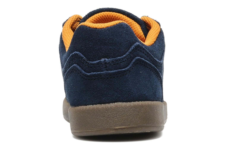 Sneakers Quiksilver LITTLE AREA 5 SUEDE Blauw rechts