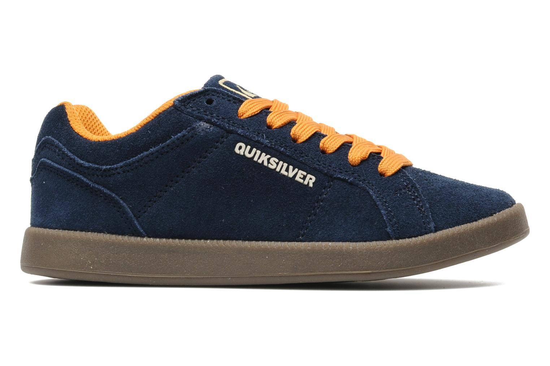 Sneakers Quiksilver LITTLE AREA 5 SUEDE Blauw achterkant