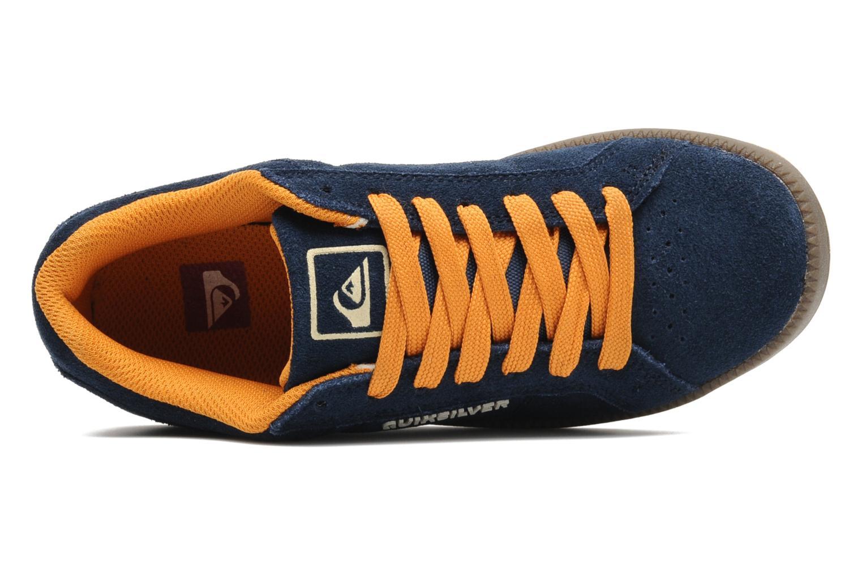 Sneakers Quiksilver LITTLE AREA 5 SUEDE Blauw links