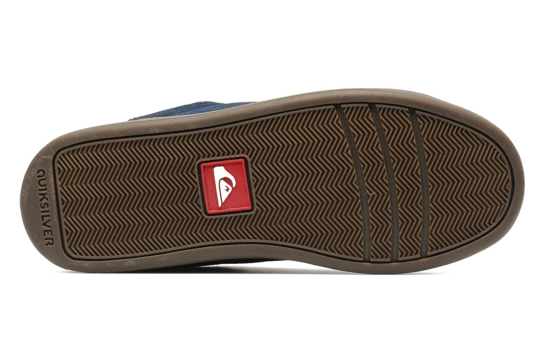 Sneakers Quiksilver LITTLE AREA 5 SUEDE Blauw boven