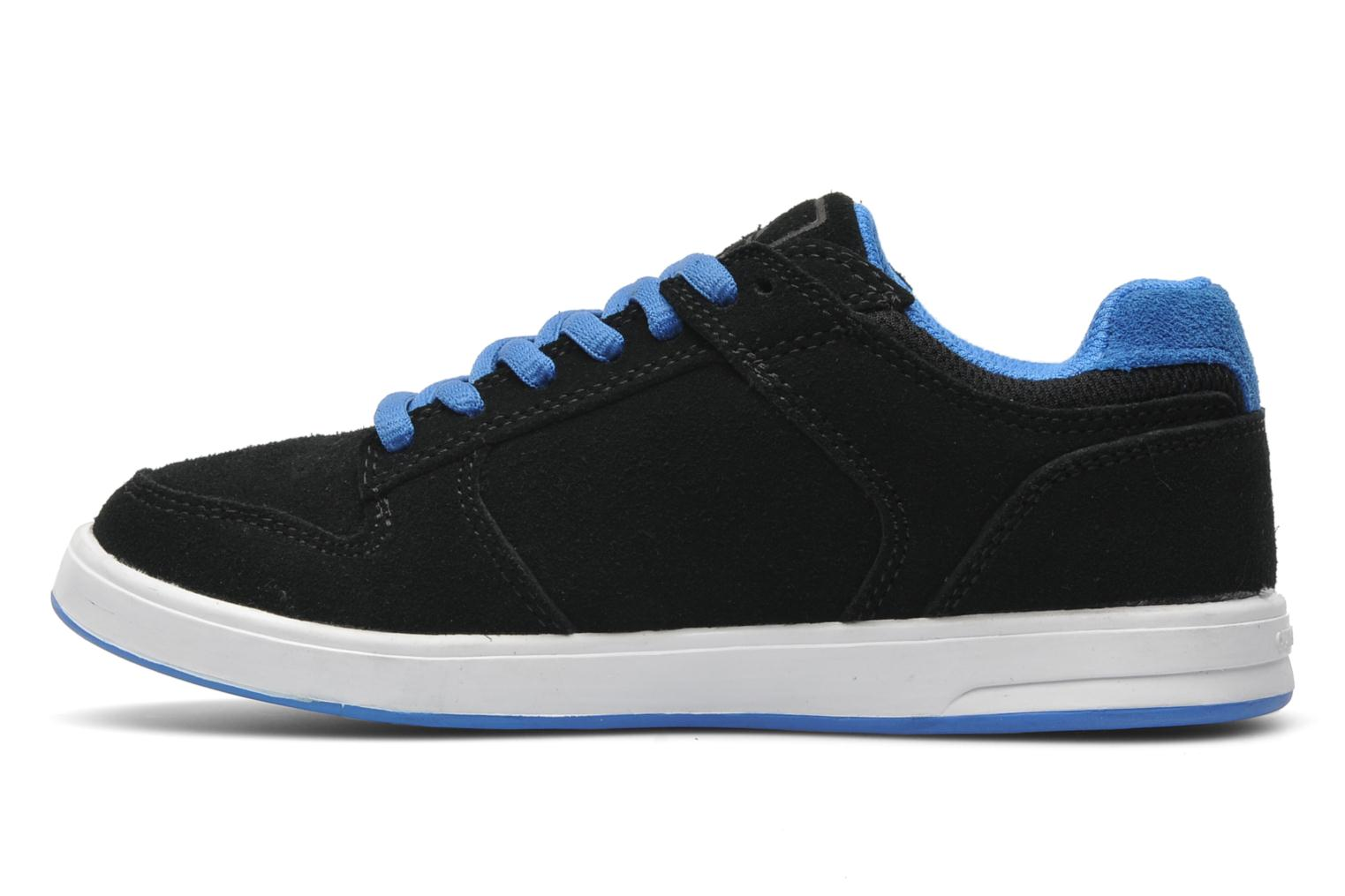 Sneakers Quiksilver LITTLE BURNSIDE 2 Zwart voorkant