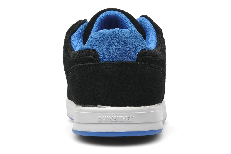 Sneakers Quiksilver LITTLE BURNSIDE 2 Zwart rechts