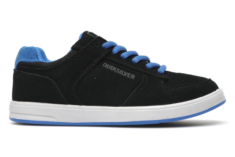 Sneakers Quiksilver LITTLE BURNSIDE 2 Zwart achterkant