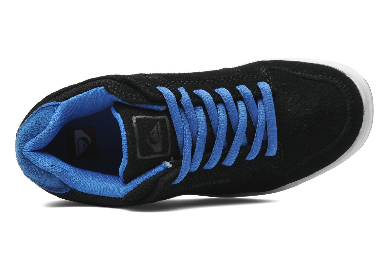 Sneaker Quiksilver LITTLE BURNSIDE 2 schwarz ansicht von links