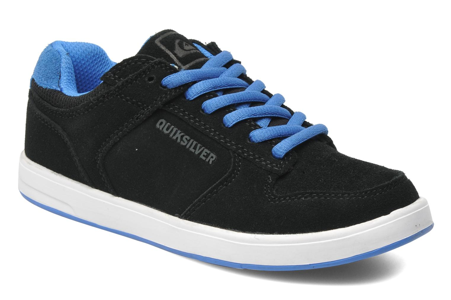 Sneakers Quiksilver LITTLE BURNSIDE 2 Zwart detail