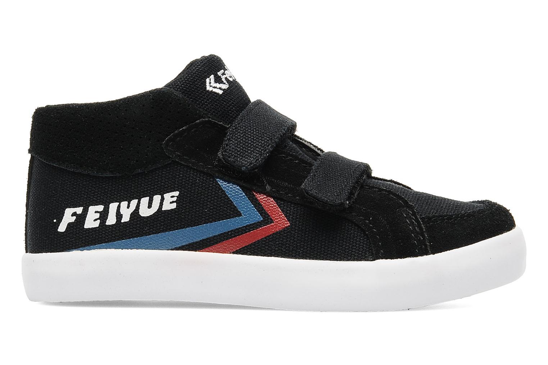 Sneakers Feiyue Delta Mid Kid Scratch Classic Zwart achterkant