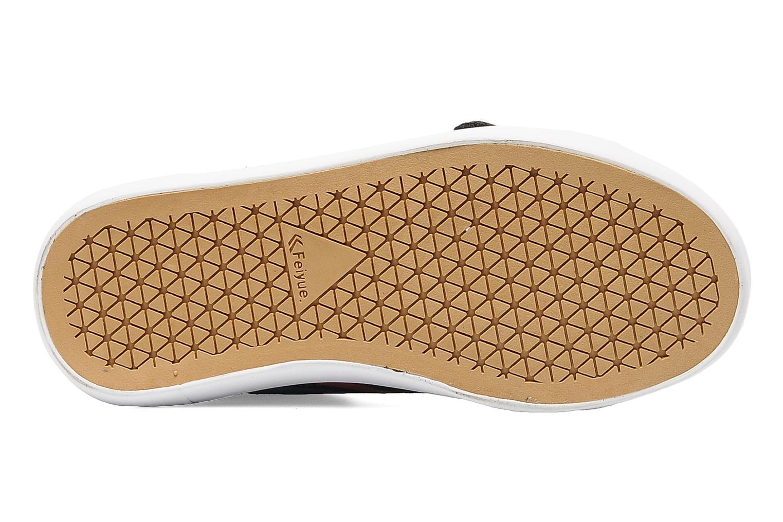 Sneakers Feiyue Delta Mid Kid Scratch Classic Zwart boven