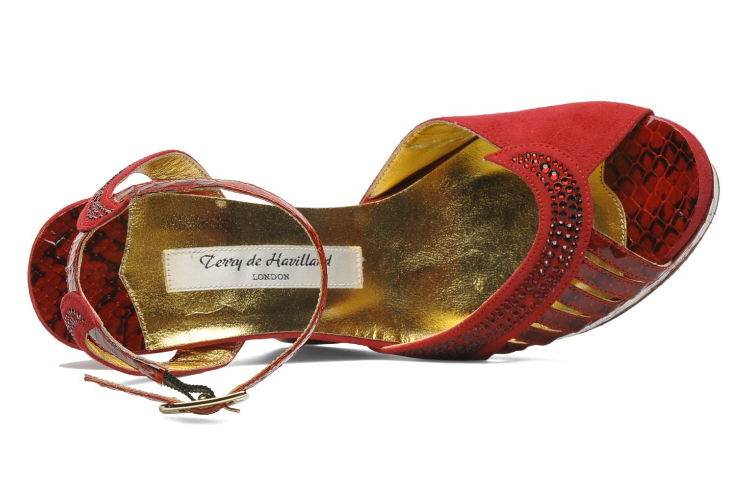 Margaux 40 Red/Ruby Cristal