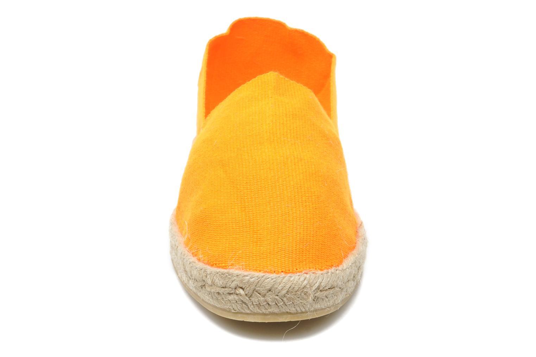 Espadrilles La maison de l'espadrille Espadrilles 328 orange schuhe getragen