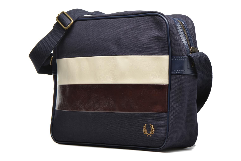 Herentassen Fred Perry Canvas shoulder bag Blauw model