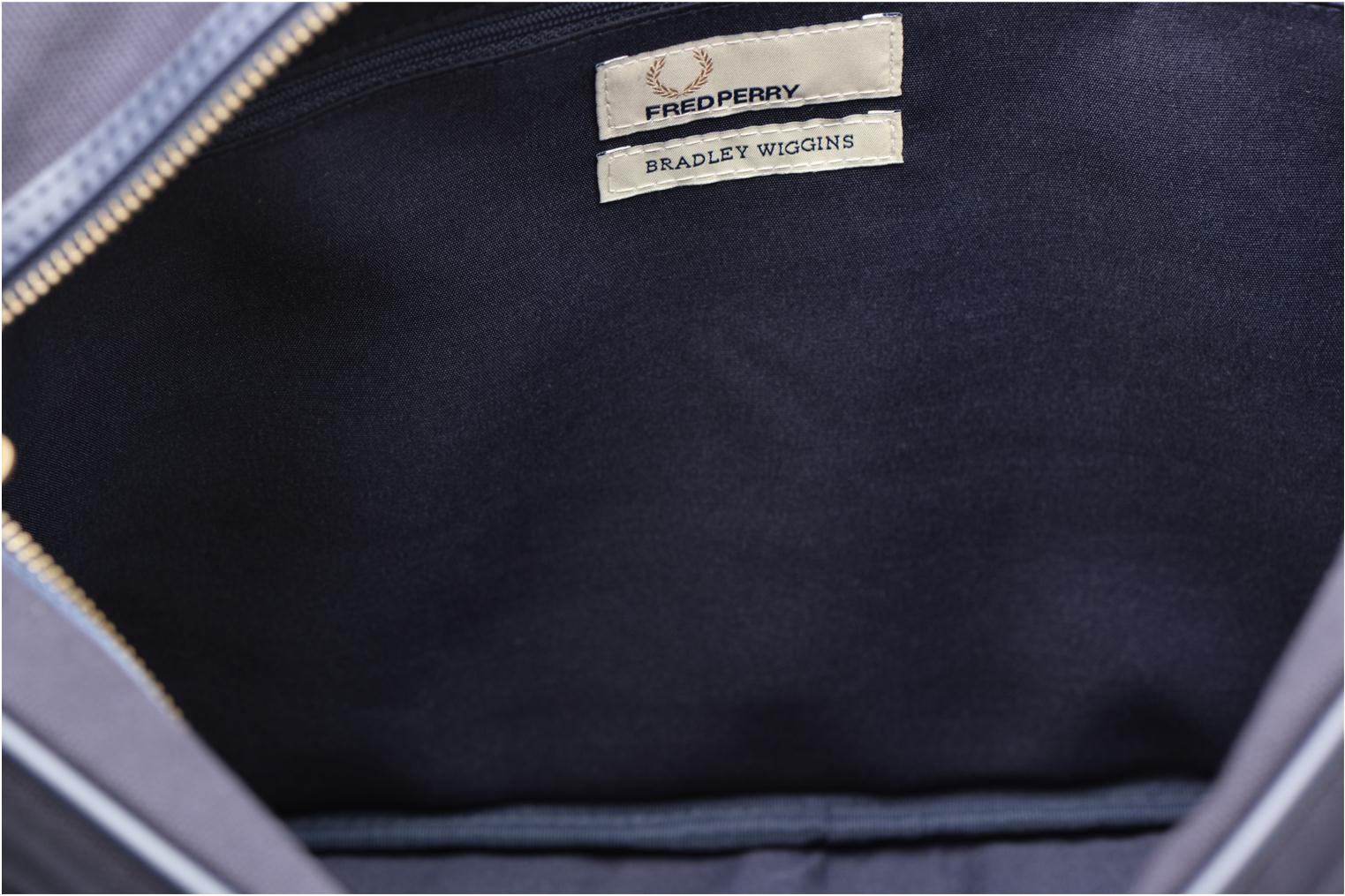 Canvas shoulder bag Navy écru
