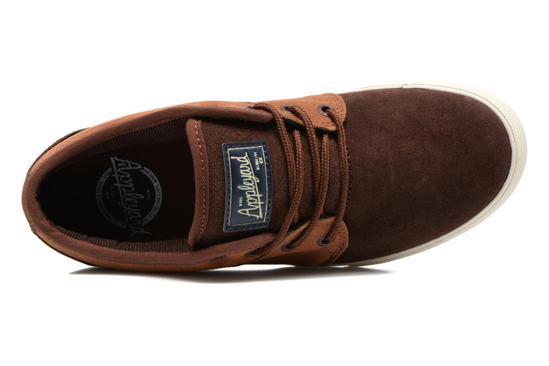 Chaussures de sport Globe MAHALO Marron vue gauche