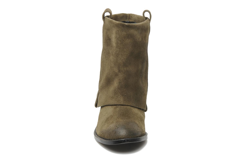 Stiefeletten & Boots Sol Sana Jai boot grün schuhe getragen