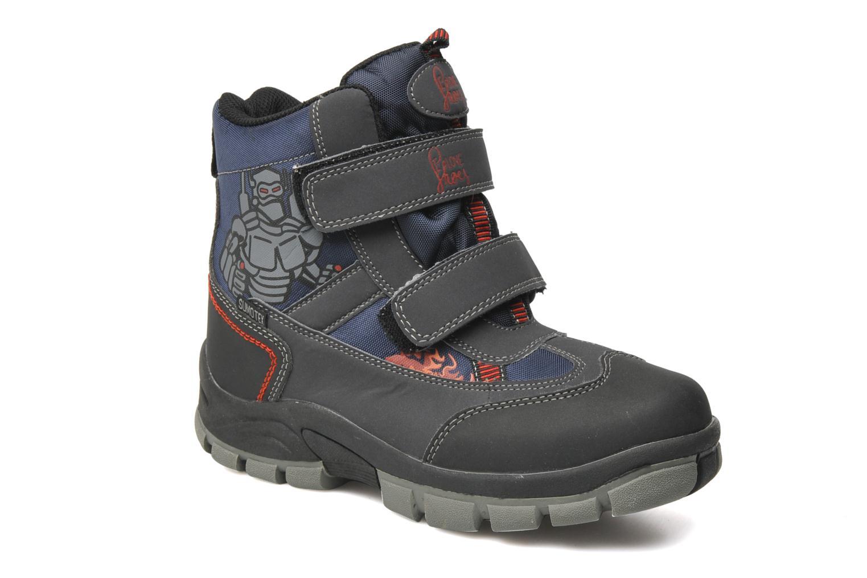 Bottines et boots I Love Shoes Harry Bleu vue détail/paire