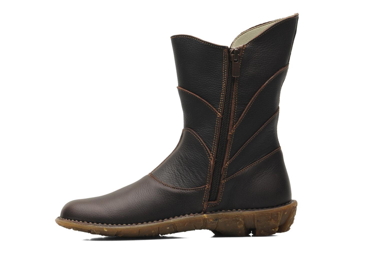 Bottines et boots El Naturalista Savia N019 Marron vue face