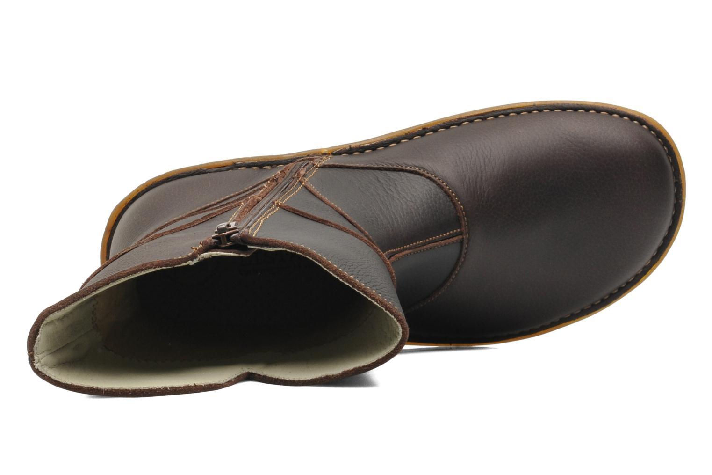 Boots en enkellaarsjes El Naturalista Savia N019 Bruin links