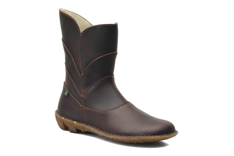 Boots en enkellaarsjes El Naturalista Savia N019 Bruin detail