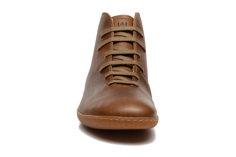 Chaussures à lacets El Naturalista Viajero N267 W Vert vue portées chaussures