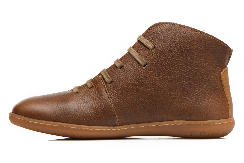 Chaussures à lacets El Naturalista Viajero N267 W Vert vue face