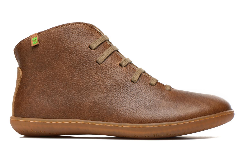 Chaussures à lacets El Naturalista Viajero N267 W Vert vue derrière