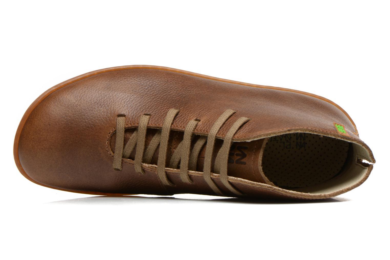 Chaussures à lacets El Naturalista Viajero N267 W Vert vue gauche