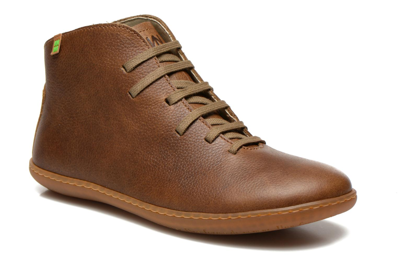 Chaussures à lacets El Naturalista Viajero N267 W Vert vue détail/paire