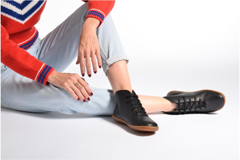 Chaussures à lacets El Naturalista Viajero N267 W Marron vue bas / vue portée sac