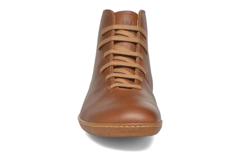 Chaussures à lacets El Naturalista Viajero N267 W Marron vue portées chaussures