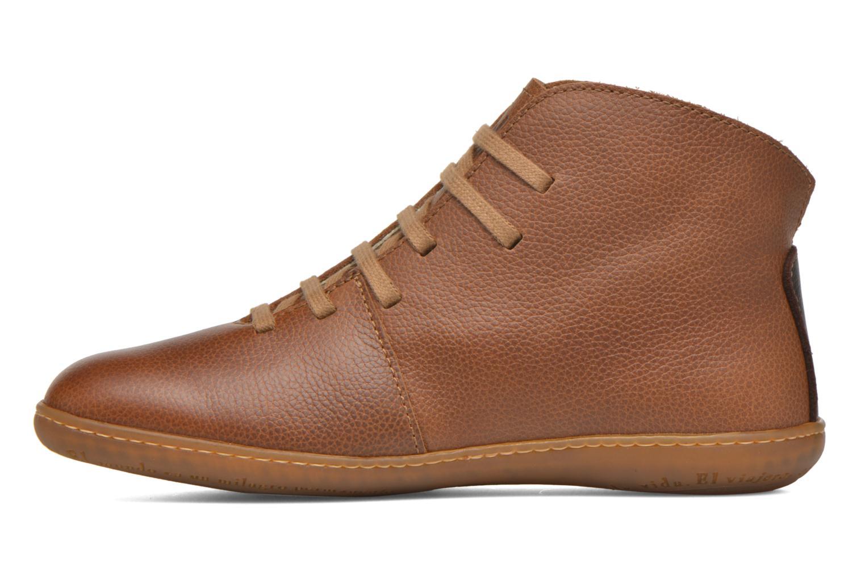 Chaussures à lacets El Naturalista Viajero N267 W Marron vue face