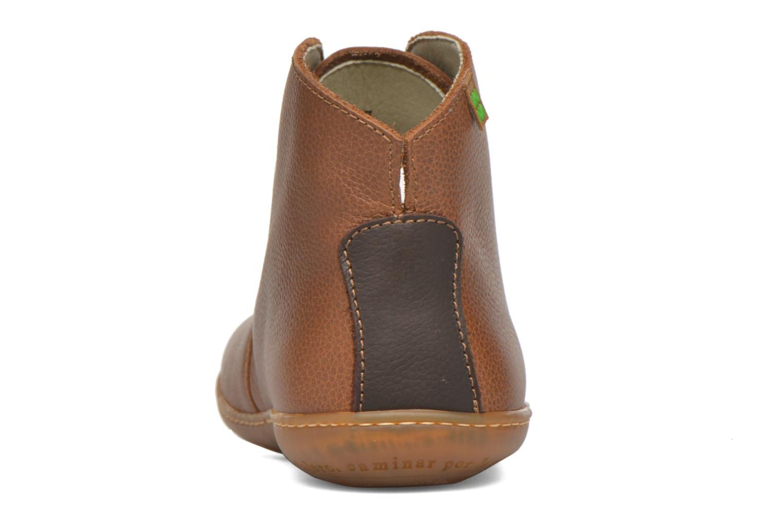 Chaussures à lacets El Naturalista Viajero N267 W Marron vue droite
