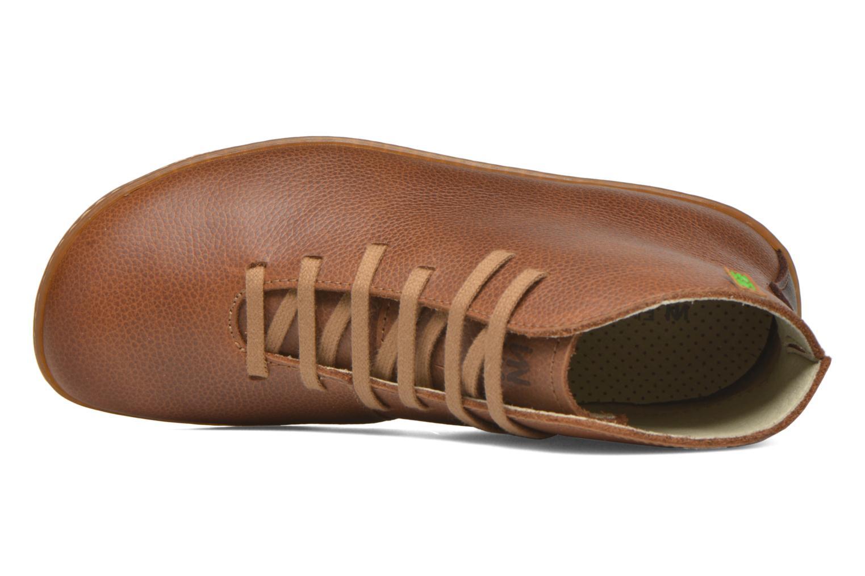 Chaussures à lacets El Naturalista Viajero N267 W Marron vue gauche