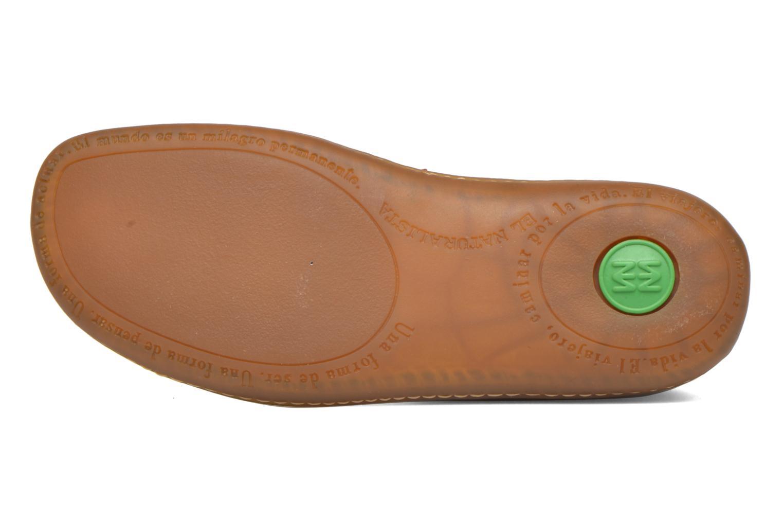 Chaussures à lacets El Naturalista Viajero N267 W Marron vue haut