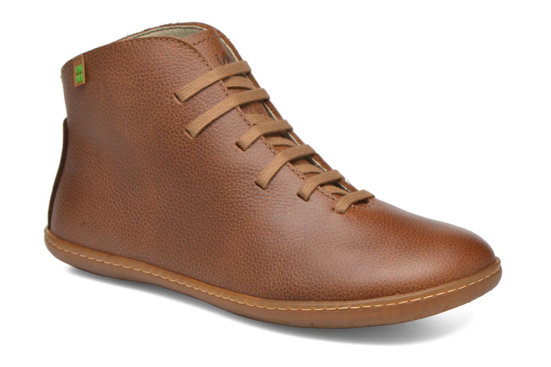 Chaussures à lacets El Naturalista Viajero N267 W Marron vue détail/paire