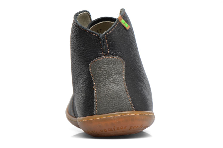 Chaussures à lacets El Naturalista Viajero N267 W Noir vue droite