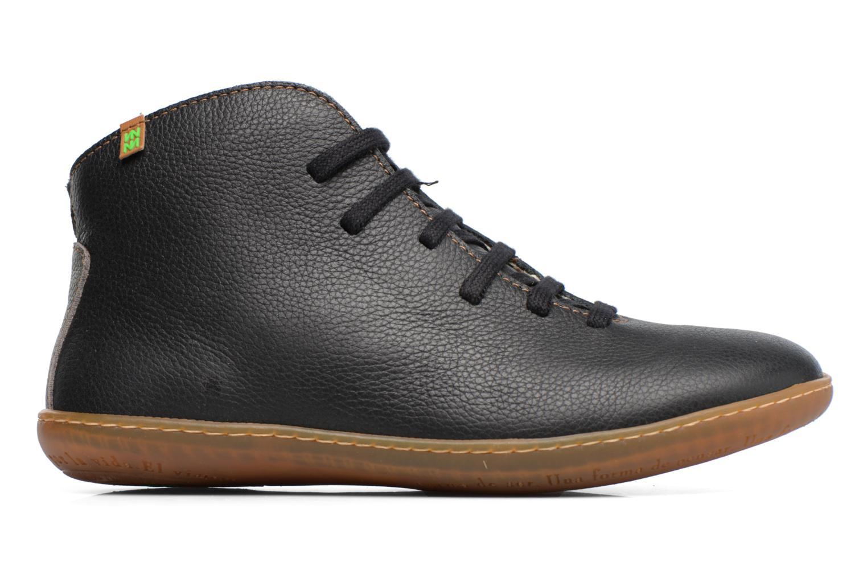 Chaussures à lacets El Naturalista Viajero N267 W Noir vue derrière
