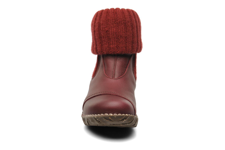 Bottines et boots El Naturalista Iggdrasil N097 Marron vue portées chaussures