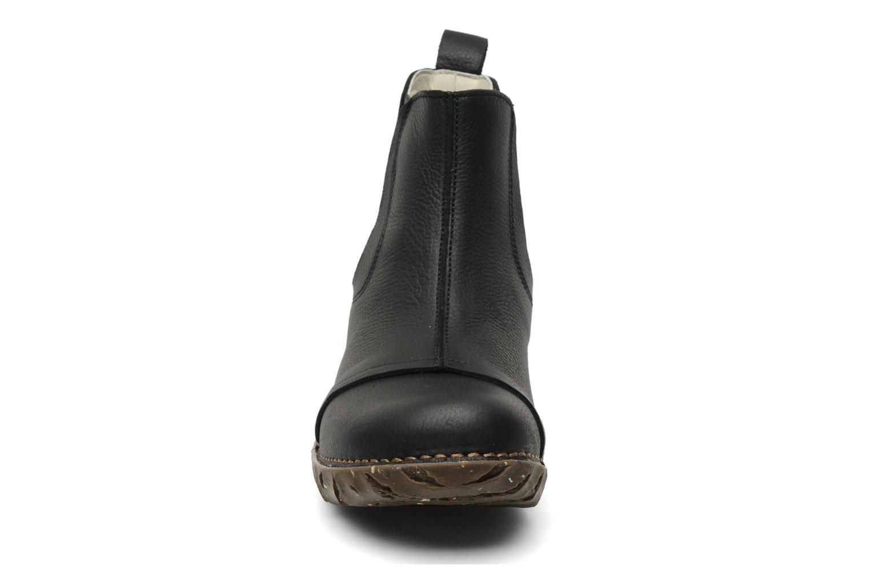Bottines et boots El Naturalista Iggdrasil N158 Noir vue portées chaussures