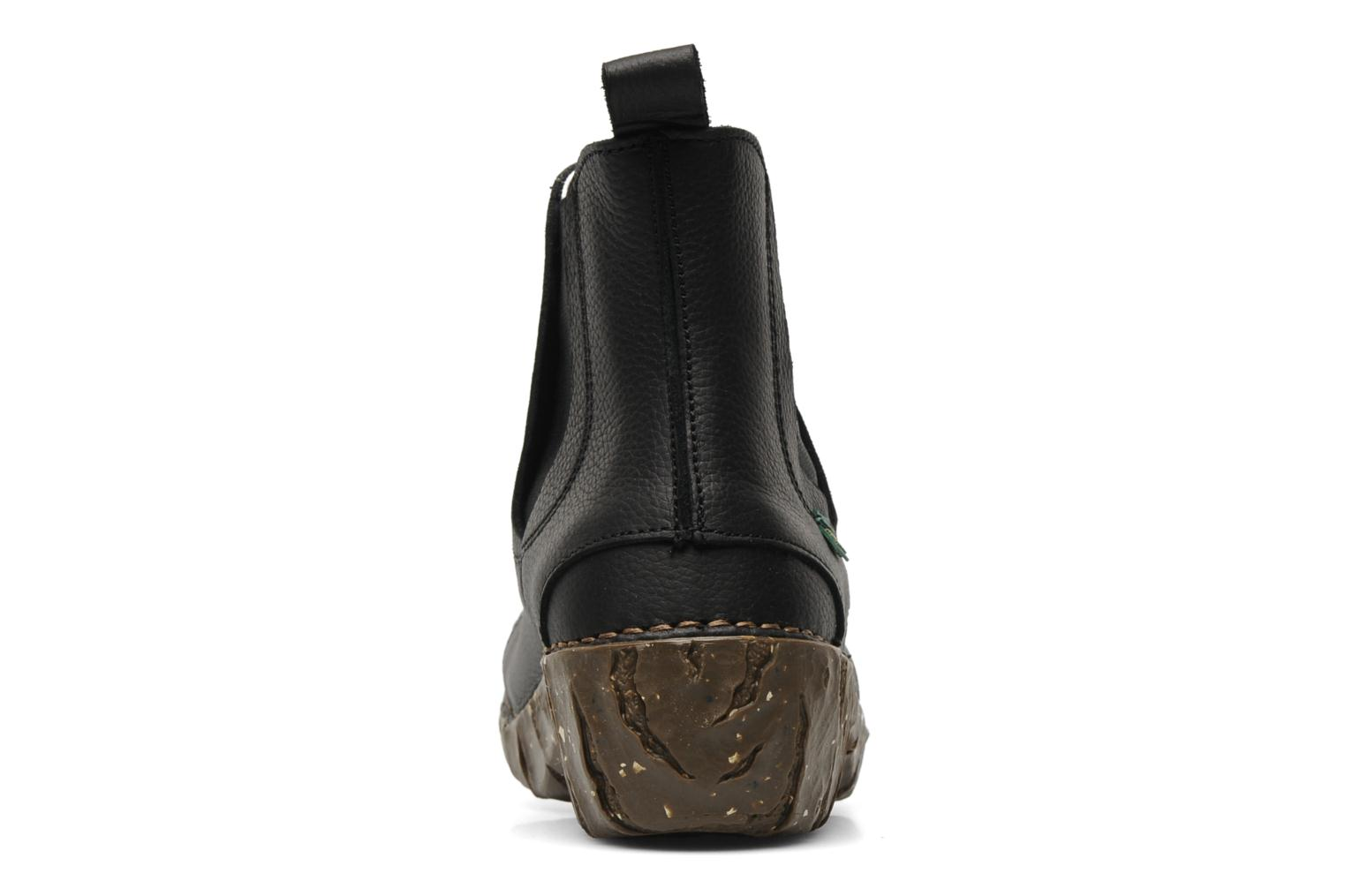 Ankle boots El Naturalista Iggdrasil N158 Black view from the right