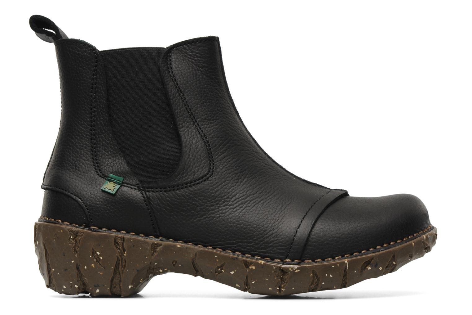 Ankle boots El Naturalista Iggdrasil N158 Black back view
