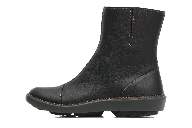 Bottines et boots El Naturalista Runas N193 Noir vue face