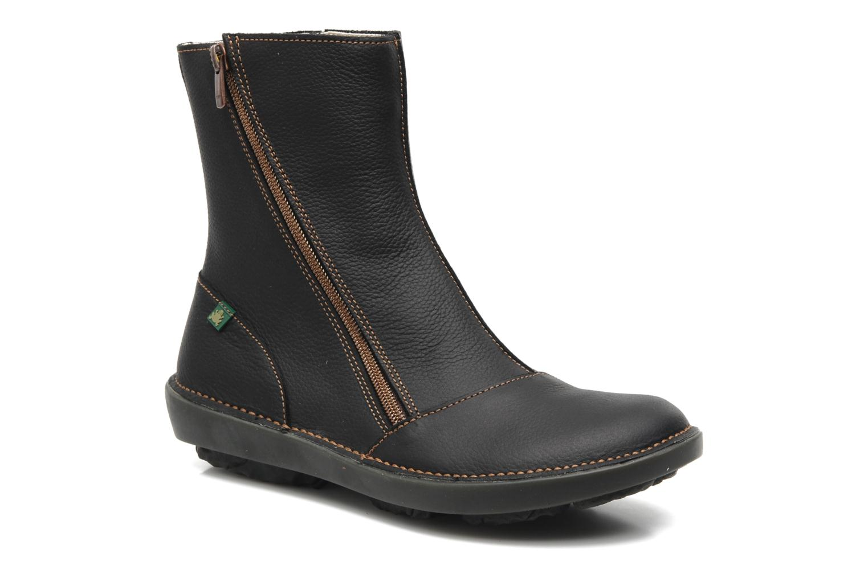 Bottines et boots El Naturalista Runas N193 Noir vue détail/paire