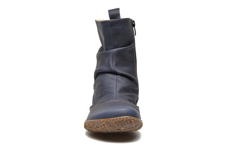 Ankle boots El Naturalista Nido Ella N722 Blue model view