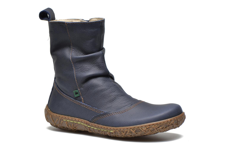Ankle boots El Naturalista Nido Ella N722 Blue detailed view/ Pair view